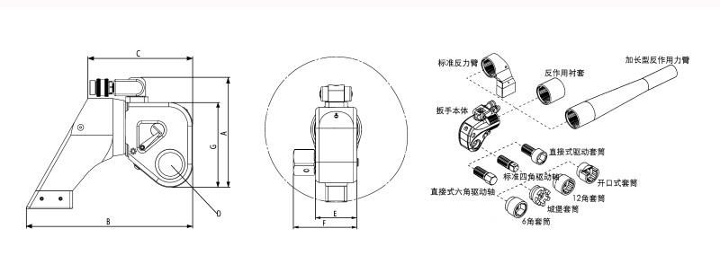 液压扭力扳手使用方法图解